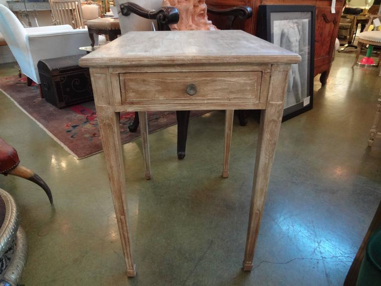 French Louis XVI Style Painted Table For Sale 3