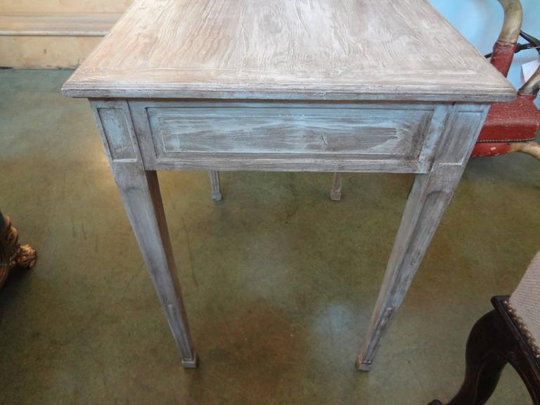 French Louis XVI Style Painted Table For Sale 2