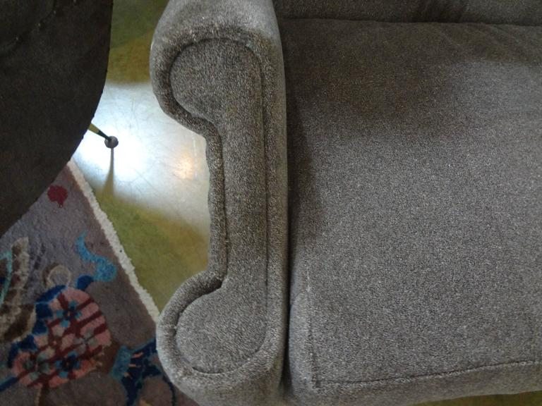 Pair of Midcentury Italian Gio Ponti Inspired Lounge Chairs or Armchairs For Sale 1