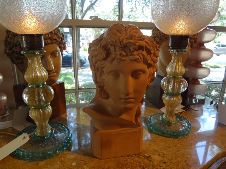 French Classical Terra Cotta Bust Signed R. D'Arly, Paris For Sale 1