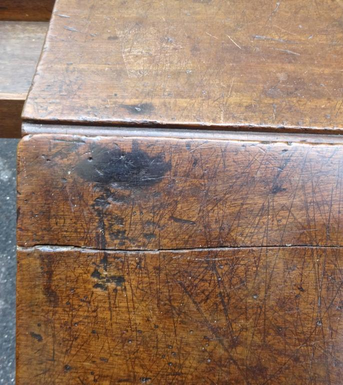 Exceptional Rare Early 18th Century English Walnut Industrial Drafting Table 10