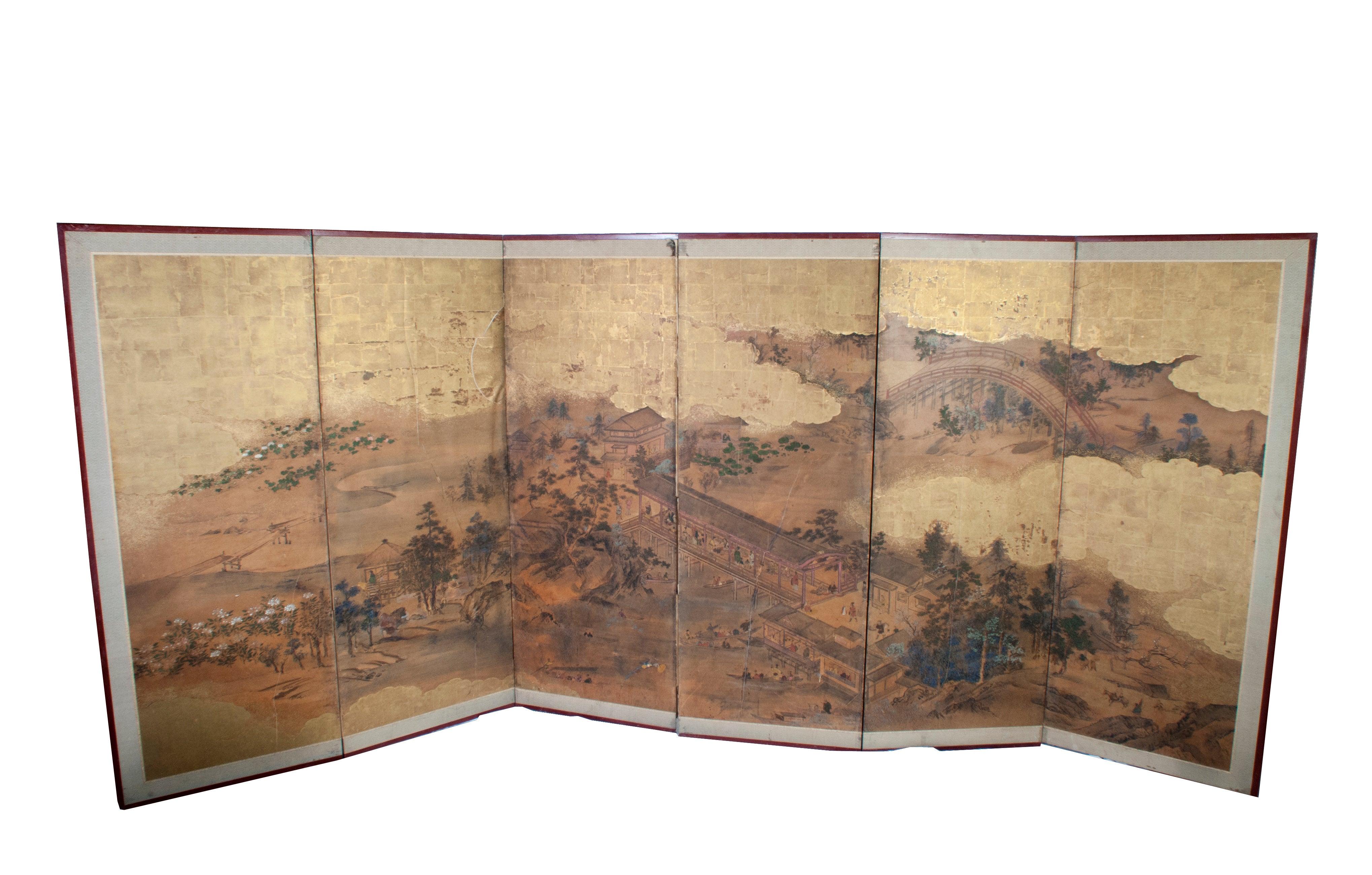 Japanese Screen - Six Panels