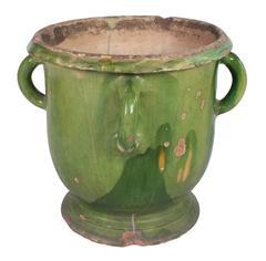 Toulouse Green Provencal Pot