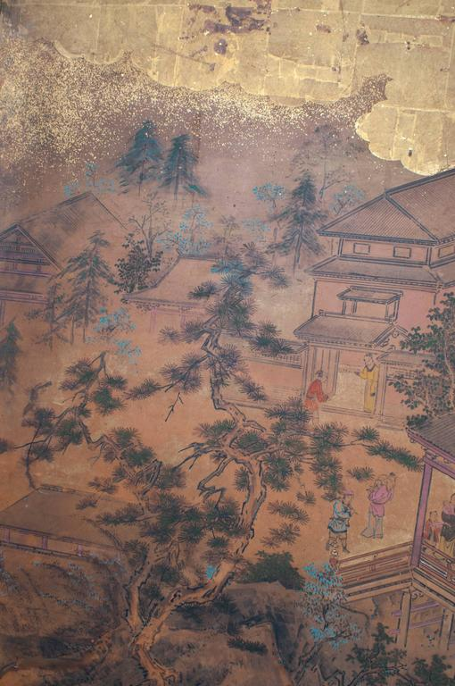 Japanese Screen - Six Panels In Excellent Condition For Sale In Washington, DC