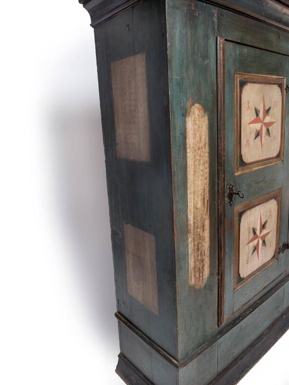 Hand Painted Armoire For Sale At 1stdibs