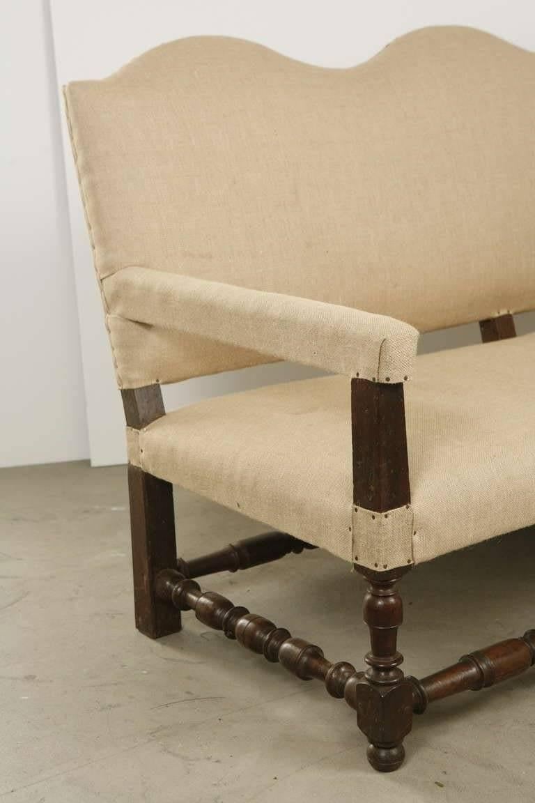 Louis XIII Style Sofa from the Basque Country in Southwestern France