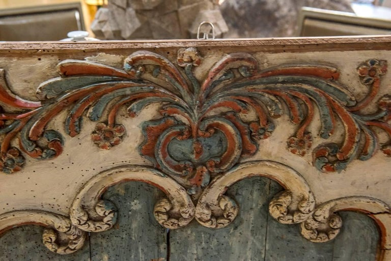 French 18th Century Painted Boiserie Panel For Sale