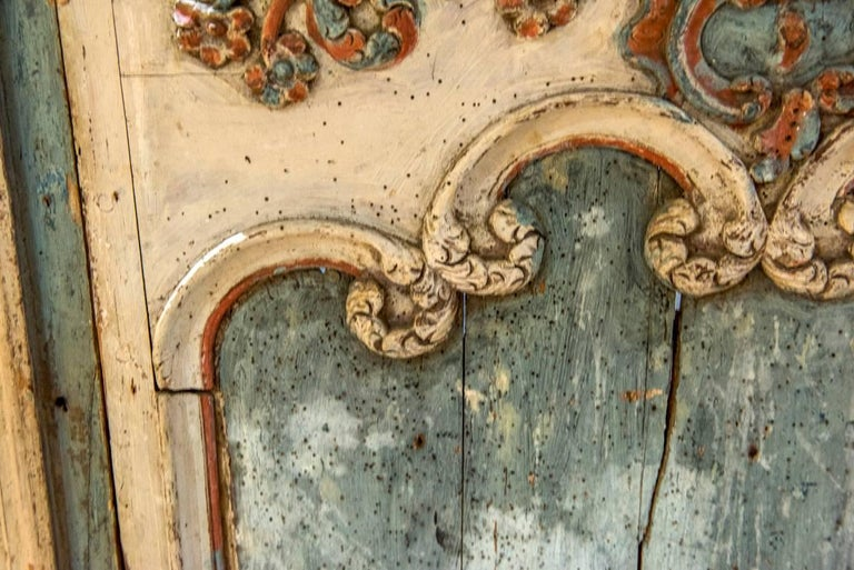 18th Century Painted Boiserie Panel In Good Condition For Sale In Washington, DC