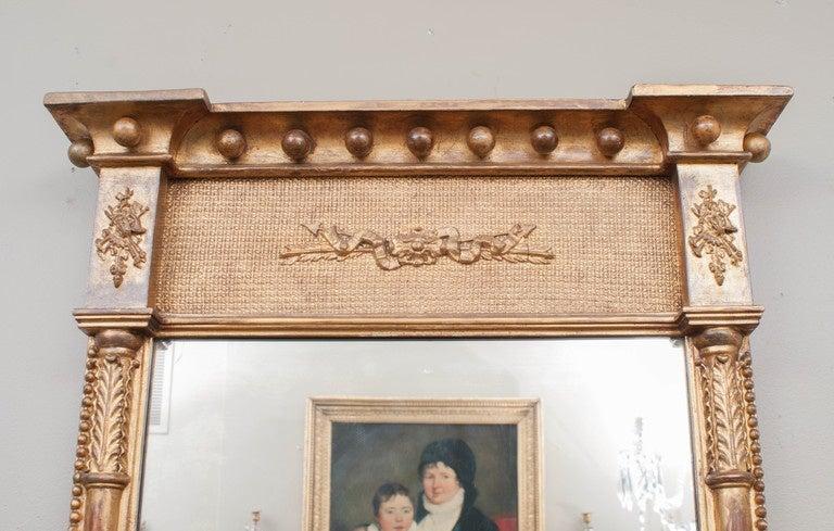 Regency Tabernacle Mirror, circa 1805, England In Excellent Condition For Sale In Alexandria, VA