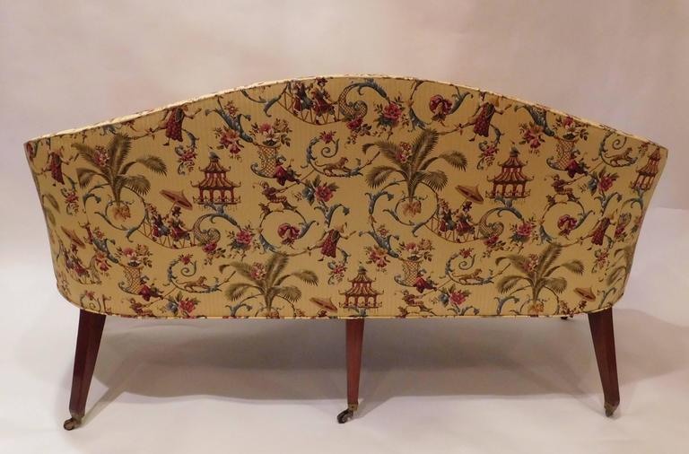 Edwardian Hepplewhite Style Sofa, England, circa 1910 For Sale 2