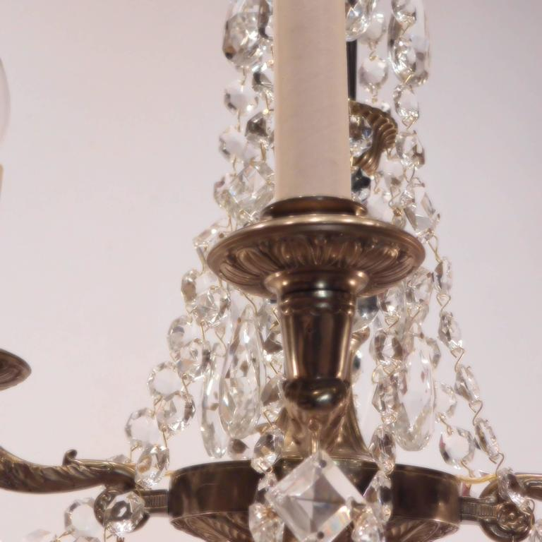 Neoclassical four light petite chandelier sweden at 1stdibs 20th century neoclassical four light petite chandelier sweden for sale aloadofball Images