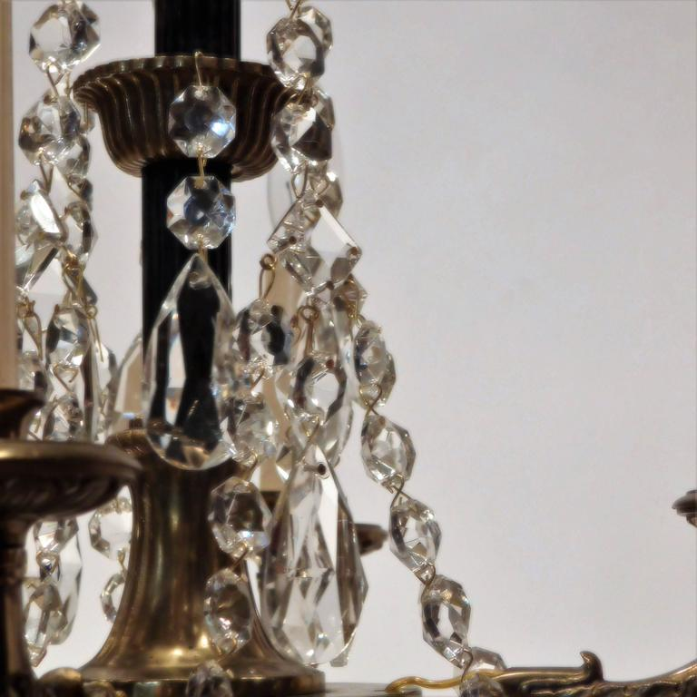 Neoclassical four light petite chandelier sweden at 1stdibs neoclassical four light petite chandelier sweden for sale 2 aloadofball Images