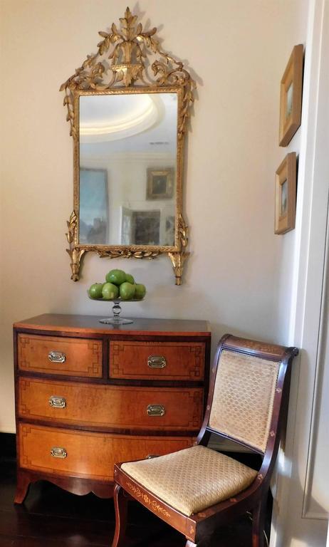 18th Century Neoclassical Italian Mirror For Sale 4