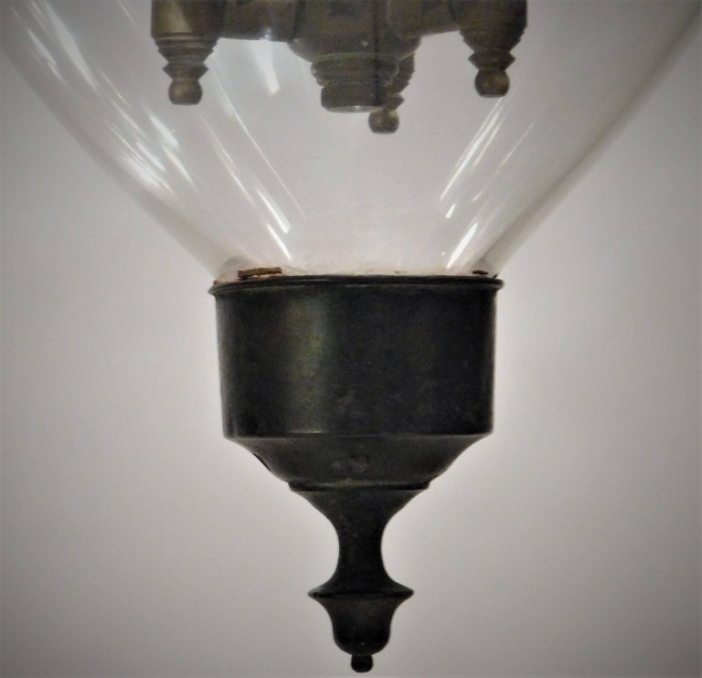English Regency Trellis Pattern Lantern, London, circa 1790  For Sale
