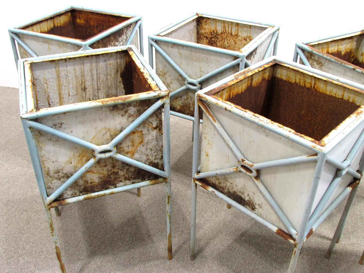 Six 1980s Planter Boxes For Sale At 1stdibs