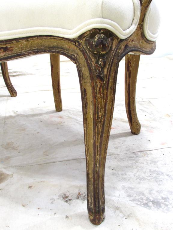 Pair of Louis XV Style Fauteuils For Sale 5