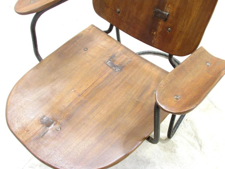 Set of Four California Brutalist Chairs For Sale 2