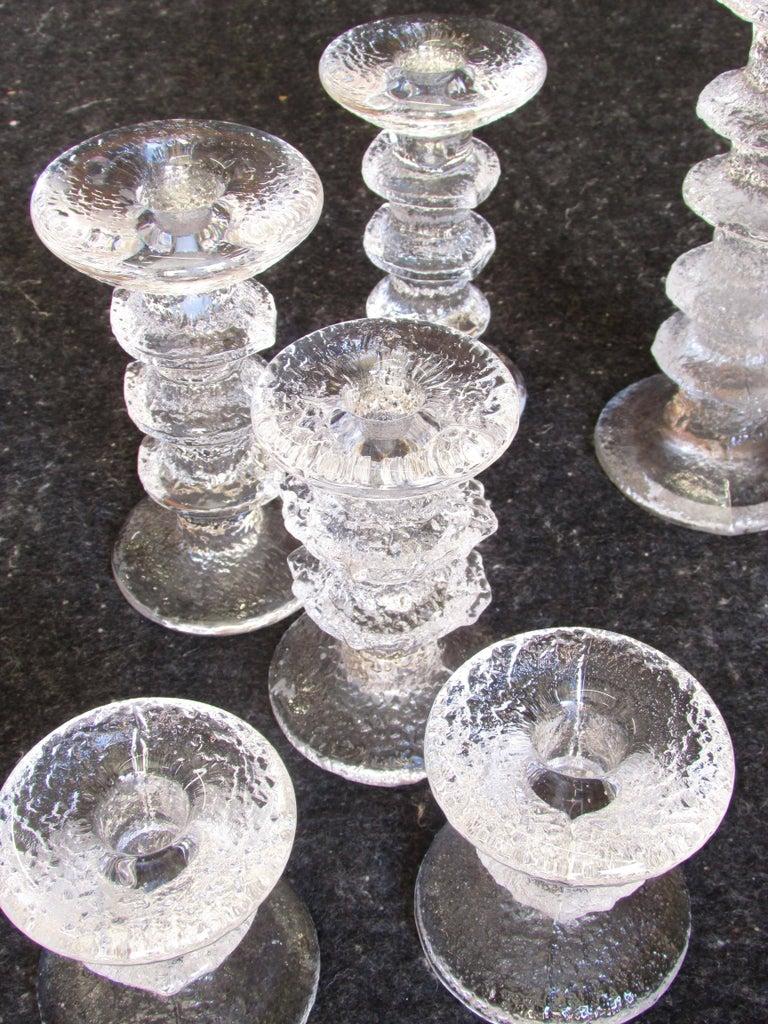 Collection of iittala festivo candleholders by timo for Iittala sale