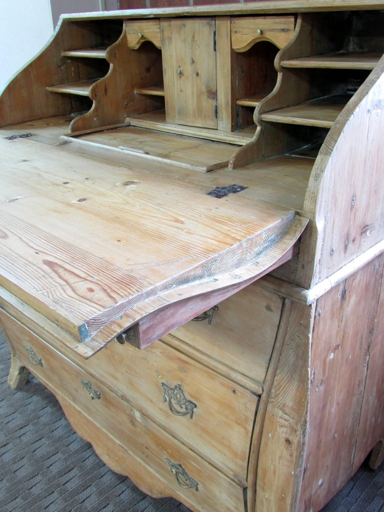 Dutch Pine Bombay Desk 6