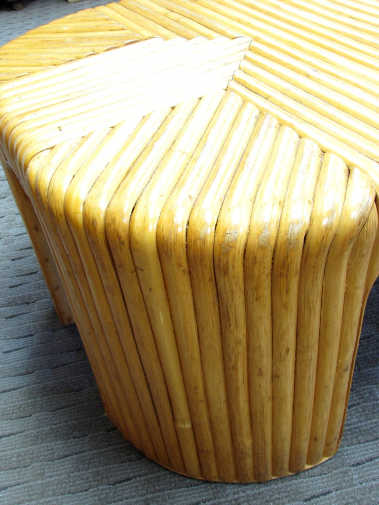 Rattan Coffee Table For Sale 3