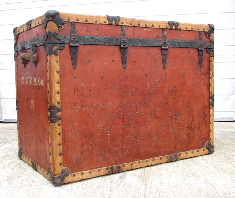 Industrial Circus Trunk For Sale