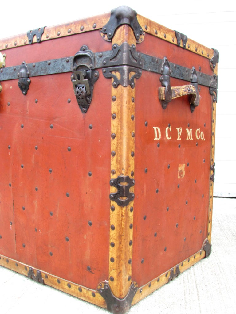 American Circus Trunk For Sale