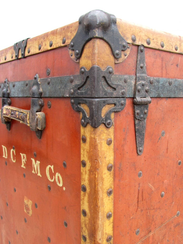 Early 20th Century Circus Trunk For Sale