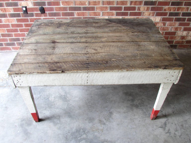 Country Rustic Farm Table For Sale