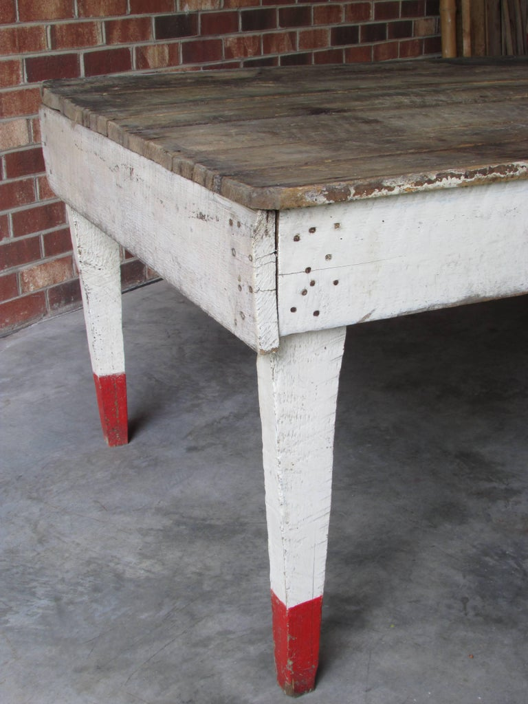 Wood Rustic Farm Table For Sale
