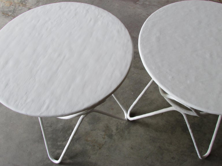 Pair of Picasso End Tables by Mr. Brown of London For Sale 5