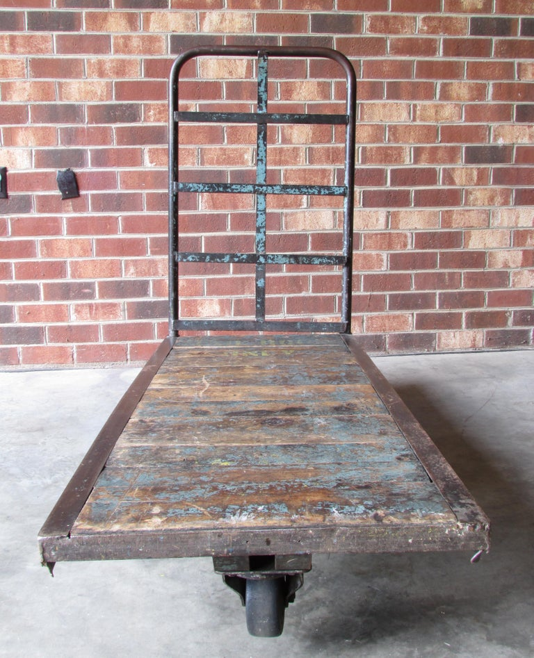 American Industrial Mail Room Cart For Sale