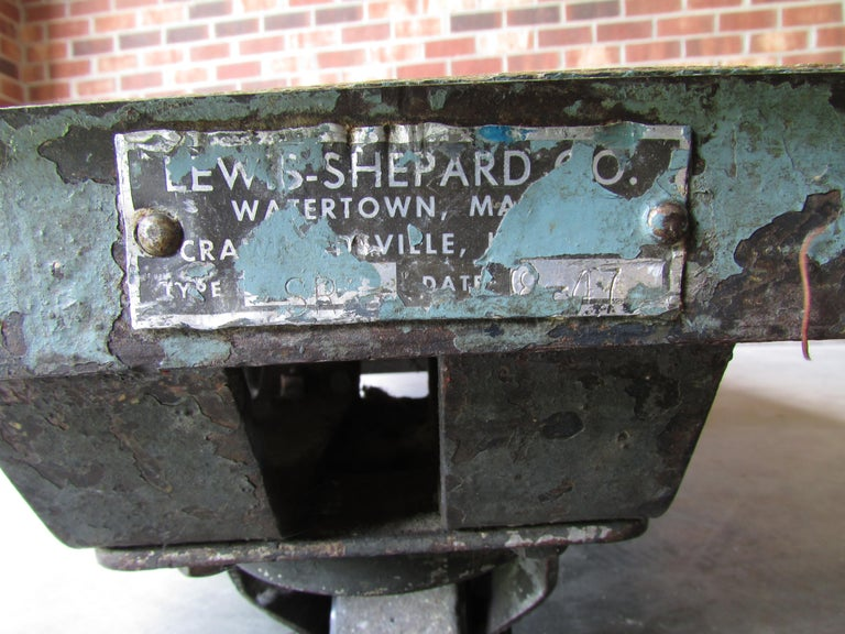 Industrial Mail Room Cart For Sale 2