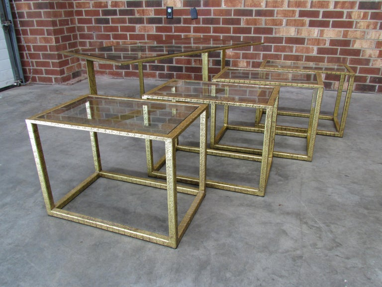 Gilt Mallory Table by Mr. Brown of London For Sale