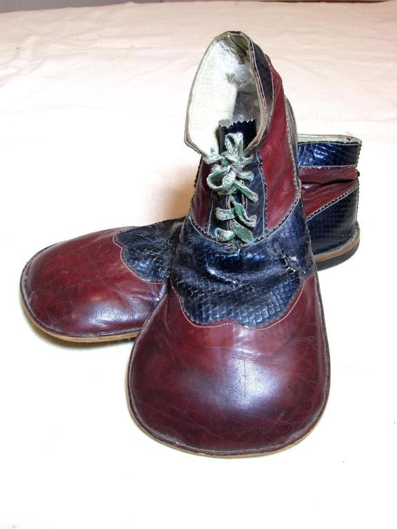 Vintage Formal Clown Shoes At 1stdibs