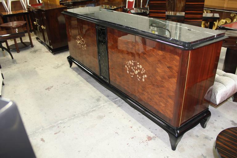 French Art Deco Mother-of-Pearl style of Jules Leleu Sideboard or Buffet For Sale 3