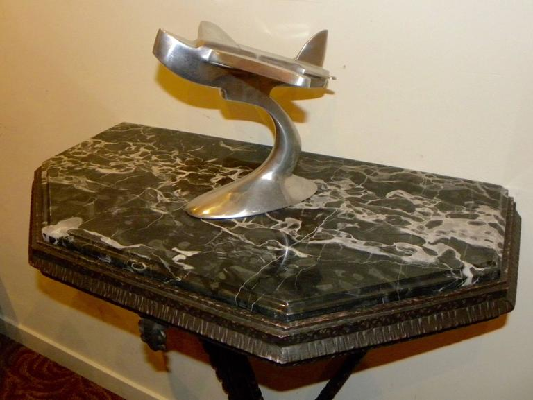 Art Deco Iron French Style Console In Excellent Condition For Sale In Oakland, CA