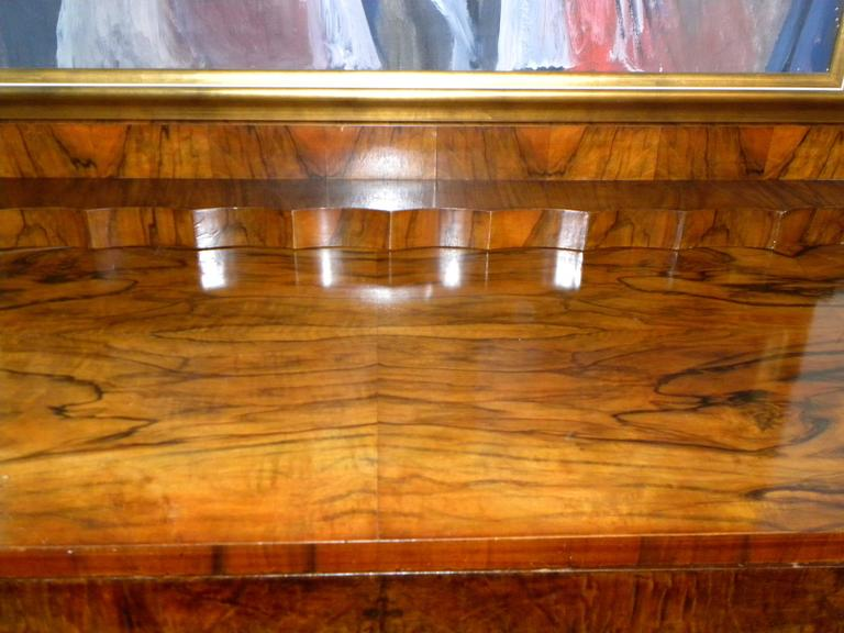 Bookmatched Dining Art Deco Storage Cabinet For Sale 2