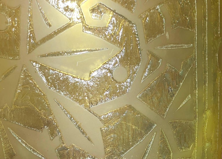 Daum Nancy Art Deco Acid Etched French Glass For Sale 1
