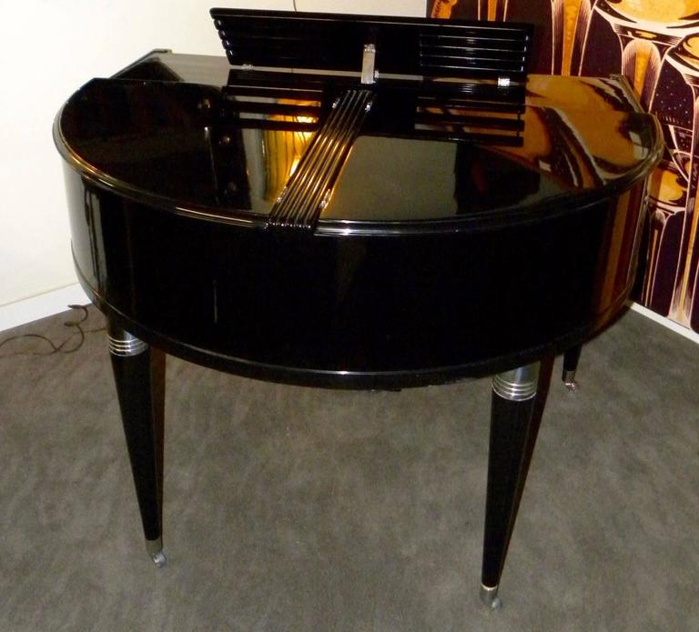 Wurlitzer Butterfly Piano Baby Grand Art Deco Streamline 4