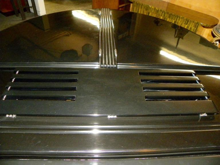 Wurlitzer Butterfly Piano Baby Grand Art Deco Streamline 8