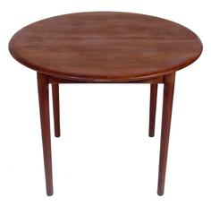 Danish Modern Teak Dining Table By Erik Christensen