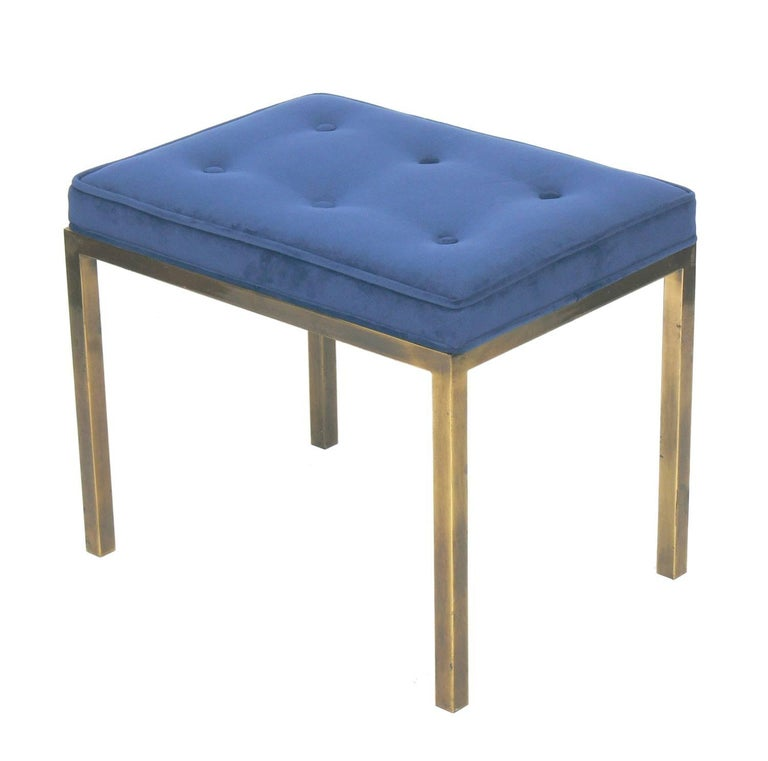 Clean Lined Brass Bench
