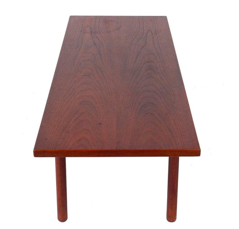Mid-Century Modern Danish Modern Coffee Table by Hans Wegner For Sale