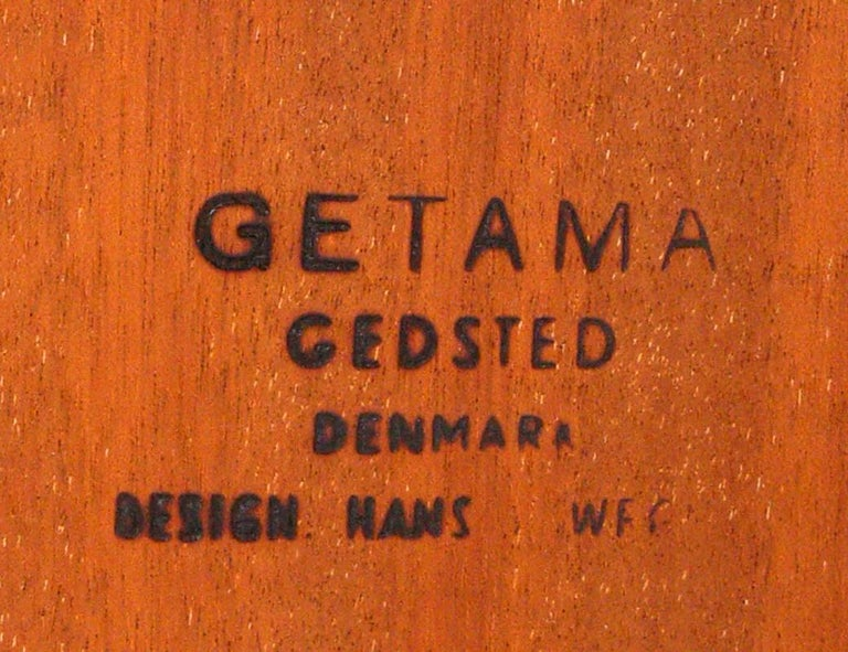 Mid-20th Century Danish Modern Coffee Table by Hans Wegner For Sale