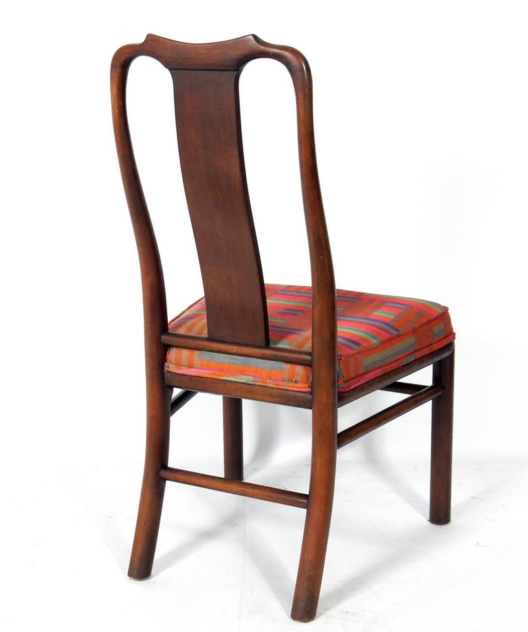 American Set of Eight Dining Chairs by Michael Taylor for Baker For Sale