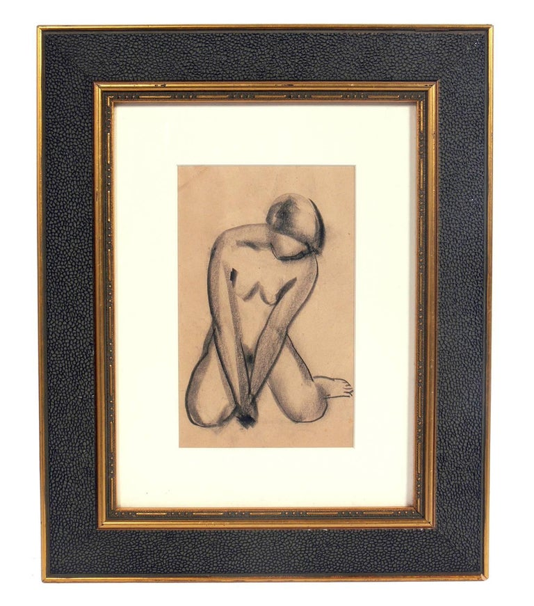 Mid-20th Century Selection of Figural Nude Drawings or Gallery Wall For Sale