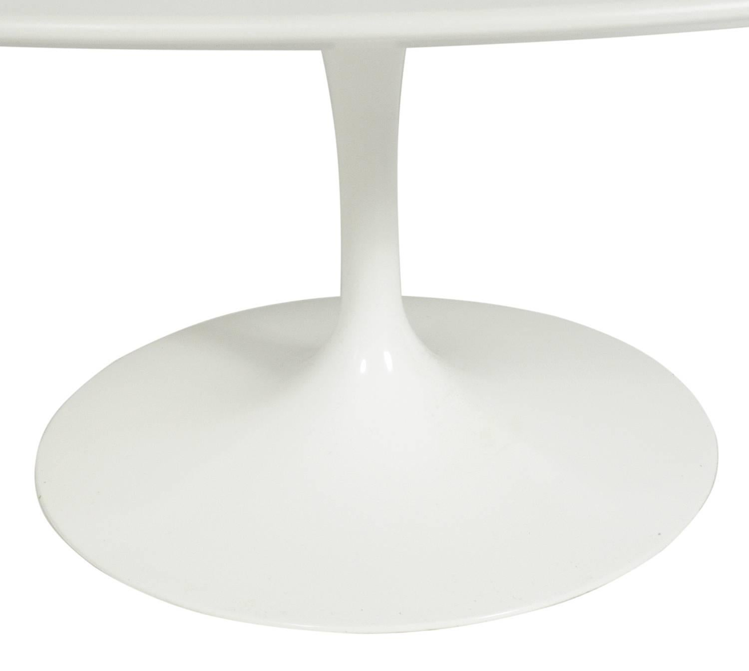 Oval Tulip Coffee Table By Eero Saarinen For Knoll For Sale At 1stdibs