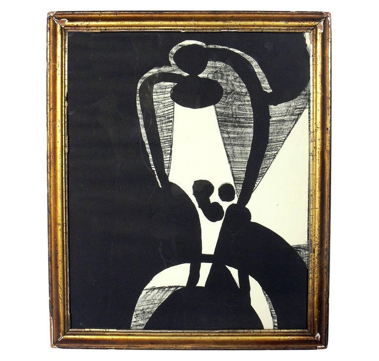 American Selection of Modern Art or Gallery Wall For Sale