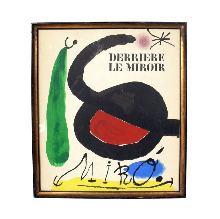 Mid-Century Modern Selection of Modern Art or Gallery Wall For Sale