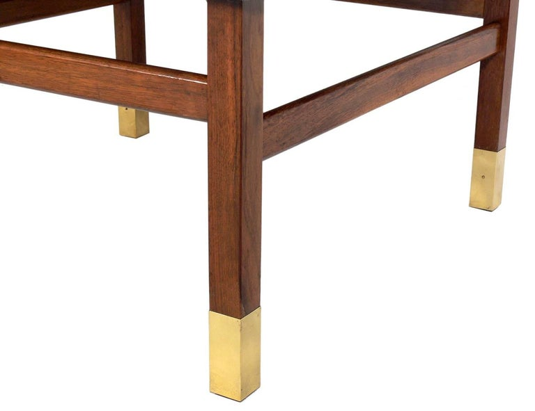 Mid-Century Modern Clean Lined Stool in the Manner of Harvey Probber For Sale